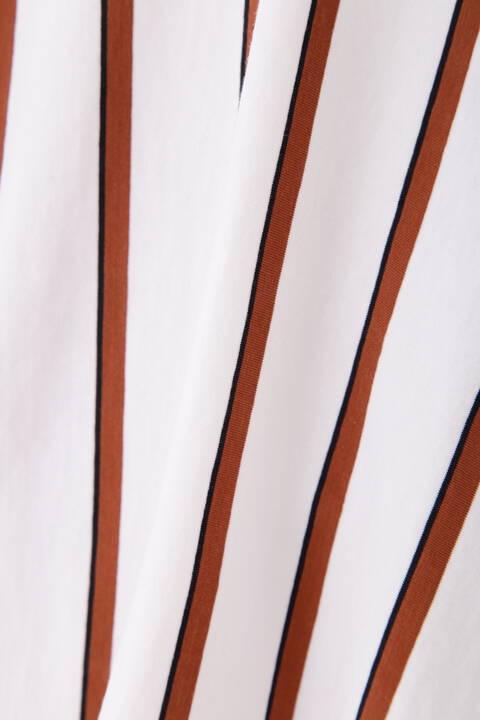 サイロプレミアム無地ボーダーカットソー