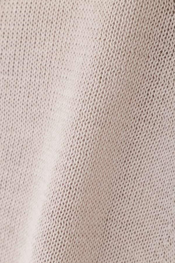 ミドルゲージギマ半袖カーディガン