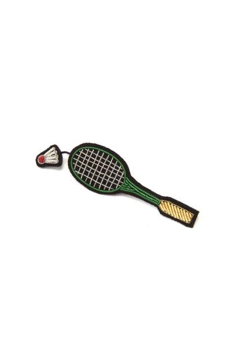 MACON&LESQUOY Badminton ブローチ
