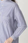 [WEB限定] NATICストライプシャツ