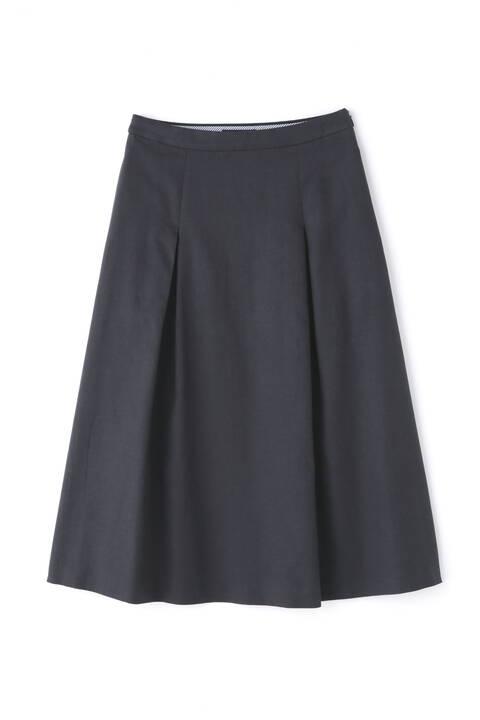 セルロース綿/PE麻ツイルスカート
