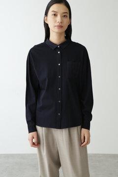 オーガニックコットン天竺コンビシャツ