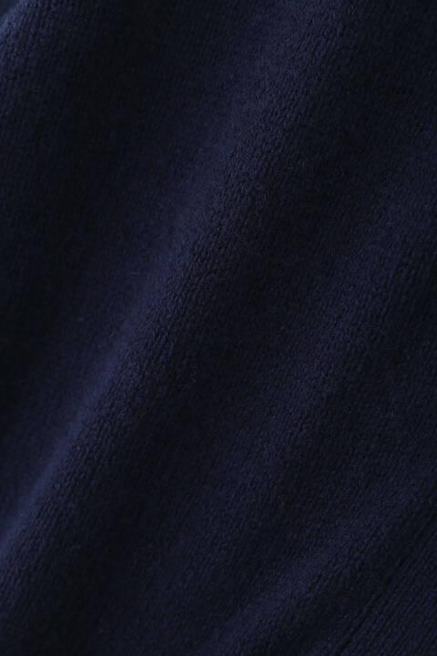 ミドルゲージカラーニットカーディガン