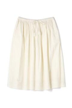 C/Liエンブロイダリーギャザースカート