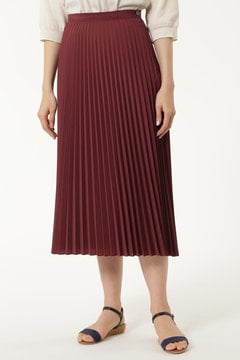 C/Peポプリン プリーツスカート