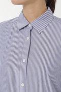 コットンポプリンロングシャツコート