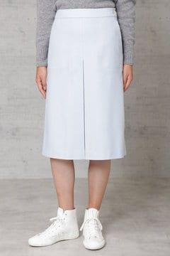 ウールフラノ台形スカート