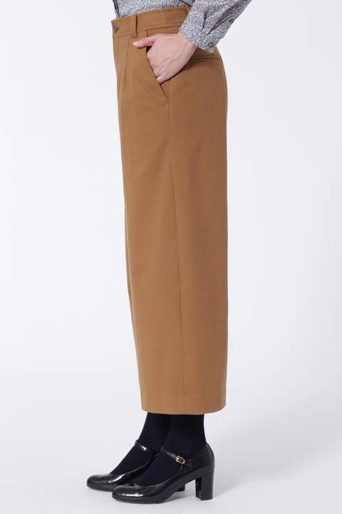 フラップポケットフラノパンツ