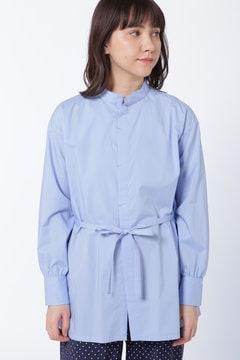 [店舗限定]PULETTE スタンドカラーシャツ