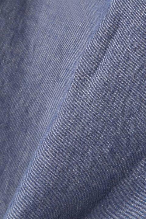 高密度リネンブラウス