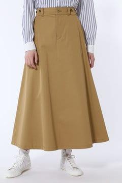[一部サイズWEB限定]ヴィンテージ風チノロングスカート