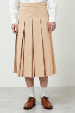 ダブルプリーツスカート