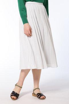 ワッシャ―プリーツスカート