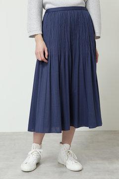 【先行予約 3月下旬お届け予定】ワッシャ―プリーツスカート