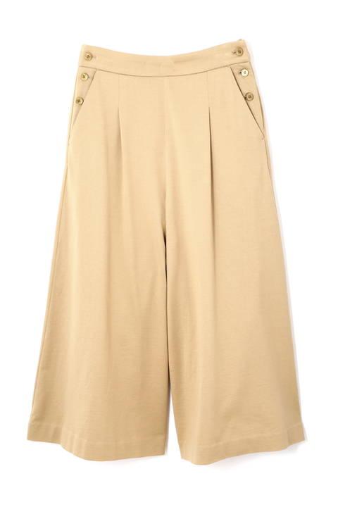 ≪Japan couture≫ハイゲージ裏毛ワイドパンツ
