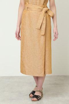 高密度リネンスカート