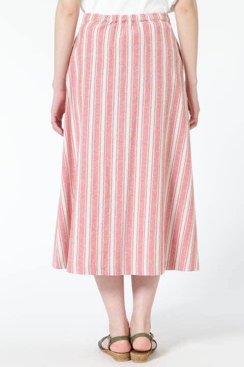 デッキストライプスカート