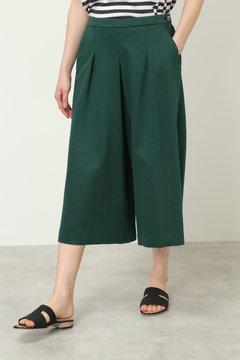 【先行予約 5月中旬お届け予定】ジャパンクチュール タックキュロットスカート