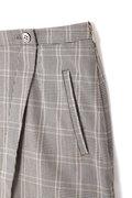 ブラウス×ラップ風スカートセットアップ