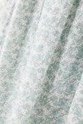 綿シルクインドプリントワンピース