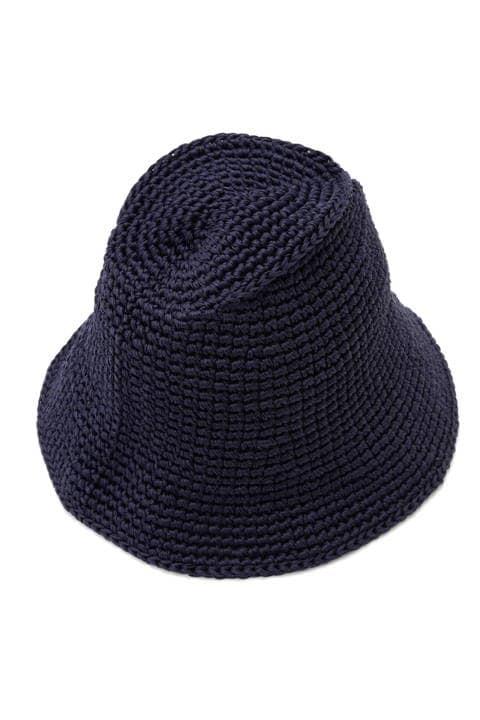 手編みハット