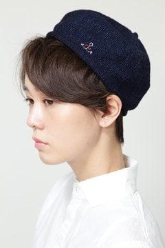 [WEB限定]NATIC インディゴ天竺ベレー帽