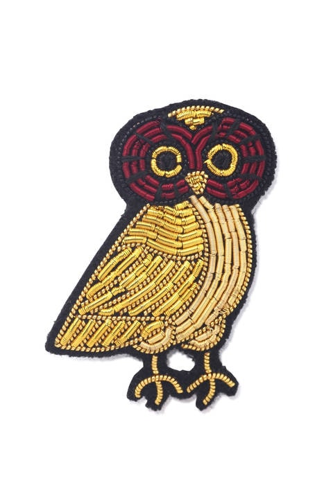 MACON&LESQUOY 刺繍ブローチ
