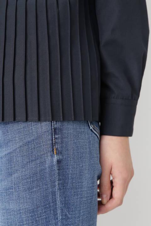 [WEB限定] PULETTE プリーツシャツ