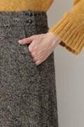 ツィードフレアマキシスカート≪Rue dieu a la HUMAN WOMAN≫