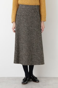 RDL ツィードフレアマキシスカート