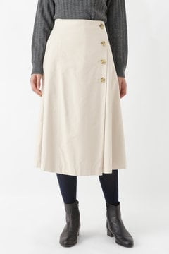 [一部カラーWEB限定]ライトモールスキンスカート