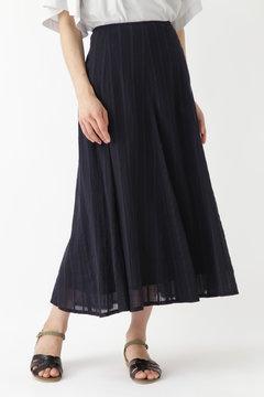 楊柳ストライプマチスカート