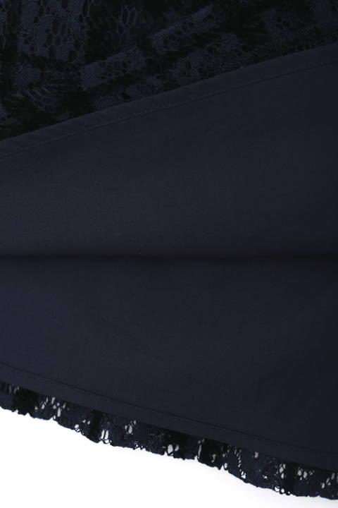 フロッキーオンレースフレアースカート
