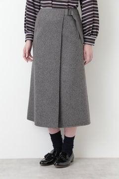 【先行予約 9月中旬入荷予定】リバーラップスカート
