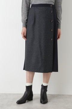 【先行予約 9月中旬入荷予定】JPC TWビエラ×ウール天竺スカート