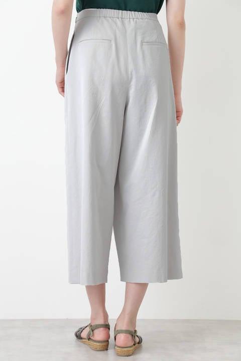 綿麻シェルタリングドライツイルパンツ