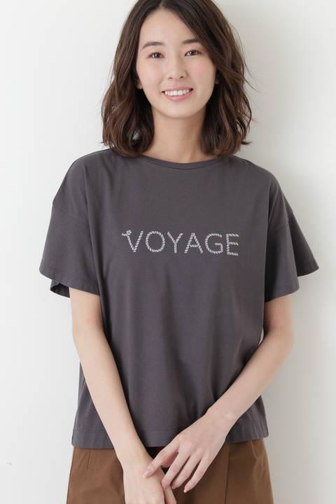 VOYAGEプリントTシャツ