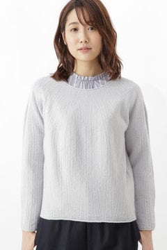 ≪Japan couture≫ホールガーメント求心柄プルオーバー