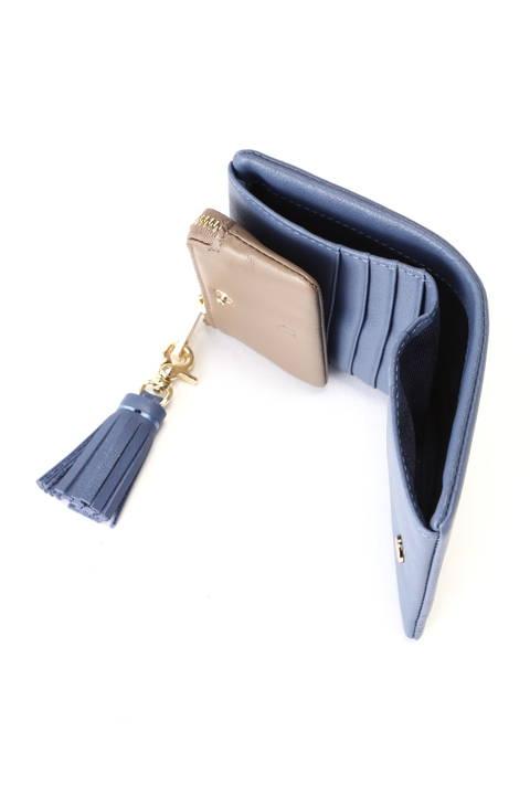 [一部カラーWEB限定]レザー二つ折り財布