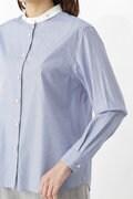 ストライプベーシックシャツ