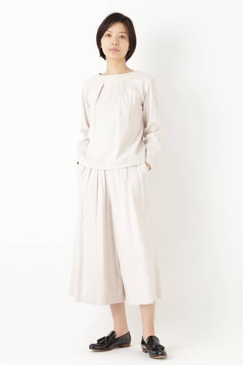 ≪Japan couture≫ジャガードチェックブラウス