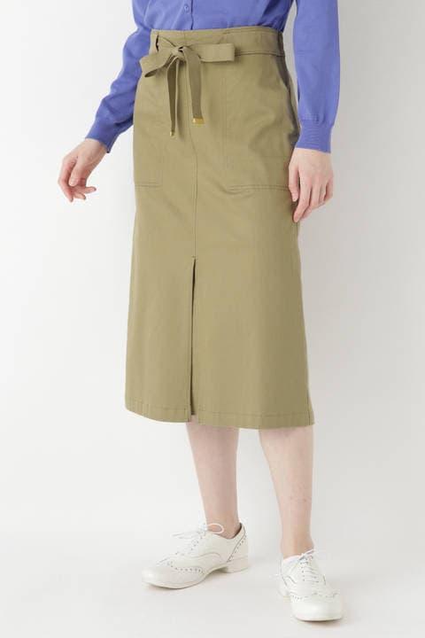モダールコットンストレッチスカート