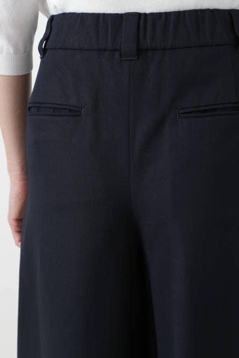 コットンツイルキュロットスカート