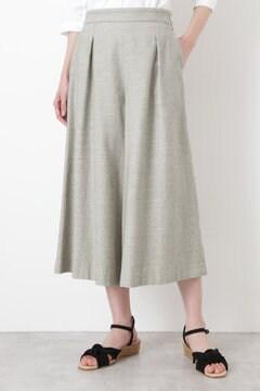 ≪Japan couture≫撚杢コットンツイルキュロット