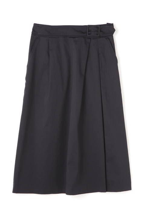 [LサイズWEB限定]スラブサテンタンブラースカート