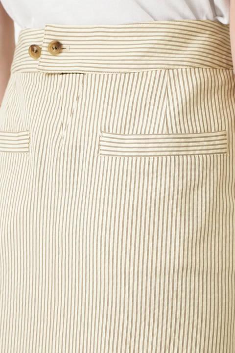 後染めサッカードビースカート