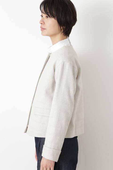 ドビーツイードジャケット