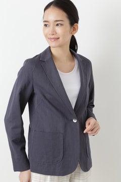 綿麻ツイルジャケット