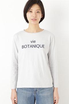 長袖ロゴプリントTシャツ