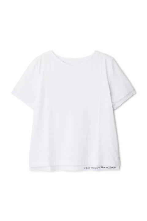 ディアエチケットVネックTシャツ